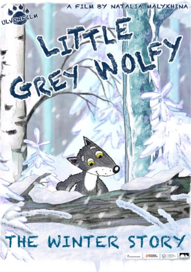 LITTLE GREY WOLFY- THE WINTER STORY