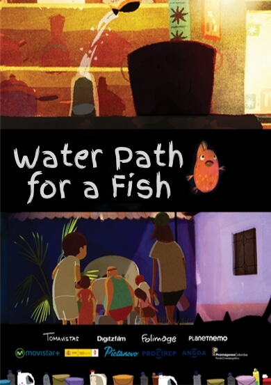 WATER PATH FOR A FISH